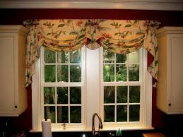 Ruffled Kitchen Curtains Lovely Ruffled Kitchen Curtains Model Home Decoration Ideas