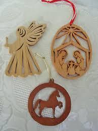 free scroll saw ornament patterns nativity lot 3 scroll saw wooden