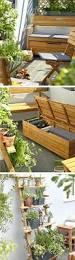 deck cooler diy outdoor seating made from decking garden bench