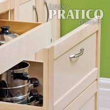 tiroirs cuisine fabriquer un module de cuisine avec tiroirs plans et patrons