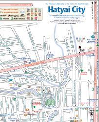 map of hat yai hat yai insider s guide map of hat yai