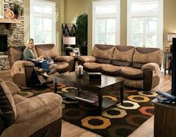 Sofa And Armchair Set Homelegance Cranley Double Reclining Brown Leather Sofa And