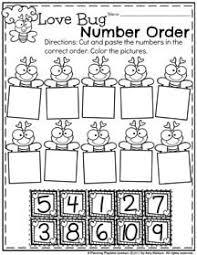 february preschool worksheets worksheets february and math
