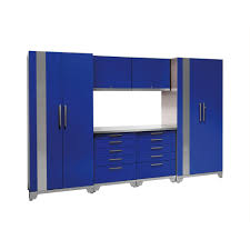 new age performance plus cabinets newage products performance plus 83 in h x 128 in w x 24 diy garage