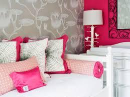 Wallpaper For Kids Bedrooms Pink Wallpaper For Girls Room Color Schemes For Kids Rooms Hgtv