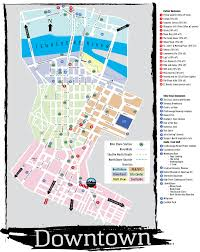 Map Of Downtown Dallas by Downtown Dallas Map And Guide 2012 Guidebook Sponsors Maps
