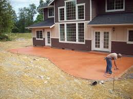 cleaning cement patio home design ideas and pictures