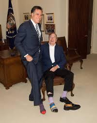 George W Bush Birth Mitt Romney On American History And Childhood