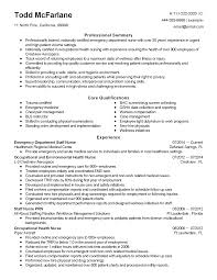Certified Phlebotomist Resume Templates Professional Emergency Department Staff Nurse Templates To