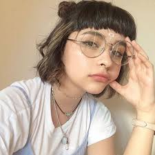 short hairstyles with glasses and bangs 37 best bangs and glasses images on pinterest short hair glasses