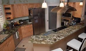 kitchen amazing samples of granite countertops in kitchens