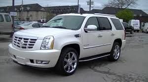 cadillac jeep 2017 white 2012 cadillac escalade fully loaded youtube