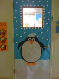 Door Decorations For Winter - winter classroom door decoration ideas google search hallway