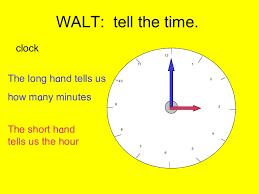 maths time o u0027clock
