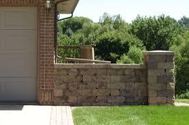natural minimalist design of the modern cinder block house that