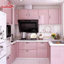 pink kitchen ideas why is everyone talking about pink kitchen cabinets kitchen design