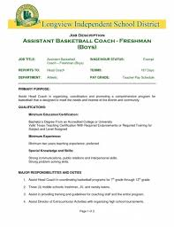 awesome college basketball coach cover letter images podhelp
