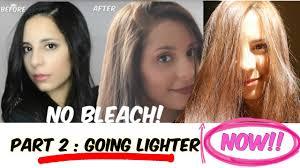 how to lighten dark brown hair to light brown diy lighten dark hair without added bleach part two going lighter