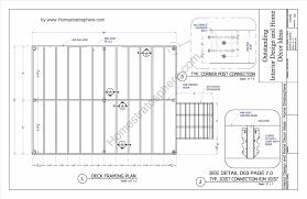 Online Blueprints free deck plans online home u0026 gardens geek