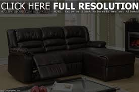 Sofa With Chaise Lounge And Recliner by Small Leather Sectional Sofa With Recliner Tehranmix Decoration