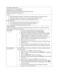interactive read aloud lesson plan template 28 templates
