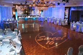 sweet 16 venues sweet 16 party ideas princess manor catering party