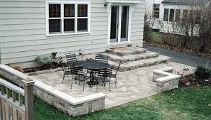 Concrete Backyard Ideas Triyae Com U003d Concrete Patio Ideas Small Backyards Various Design