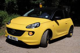 opel yellow vauxhall adam slam 1 4i ecoflex pocket lint