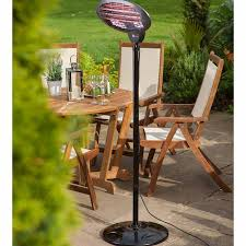 halogen patio heaters connect it 2000w halogen freestanding patio heater robert dyas