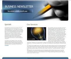 download free html business newsletter template u2022 7boats