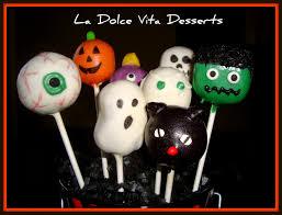 Halloween Cake Pop La Dolce Vita Desserts Cake Pops
