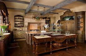 wood kitchen cabinets copper chandeliers marble top wooded kitchen
