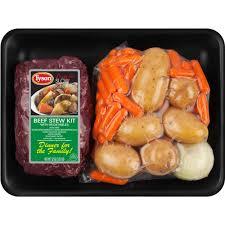 tyson beef stew kit with vegetables 52 oz walmart com
