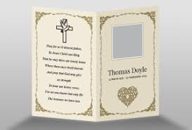 funeral card template free memorial card template in indesign format