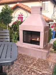prefab outdoor fireplace home design by fuller