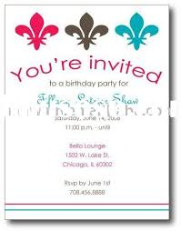 invitation greeting cards party invitation wording party