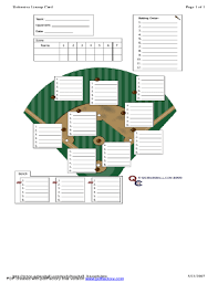 defensive lineup card fill online printable fillable blank