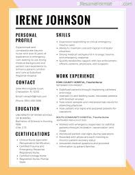 Best Resume Format For Job Hoppers by Resumes Format Doc Resume Maker Create Professional Resumes