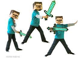Steve Minecraft Halloween Costume Boy Minecraft U0027s