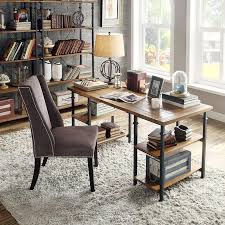 minimalist rustic office furniture getting the rustic office