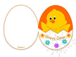 free easter cards easter card printable free coloring page
