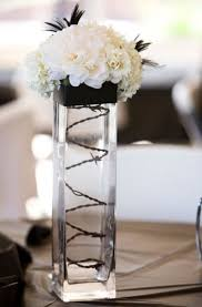 white centerpieces 46 cool black and white wedding centerpieces happywedd