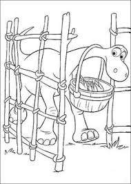 free printable disney good dinosaur arlo u0026 spot coloring