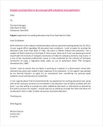 best ideas of sample cover letter for bank loan on download