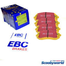 yellow subaru wrx scoobyworld all brake products