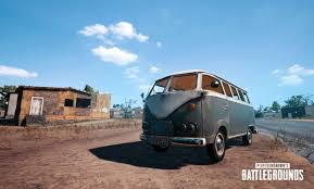 volkswagen hippie van pubg u0027s newest vehicle is pretty much a hippie van