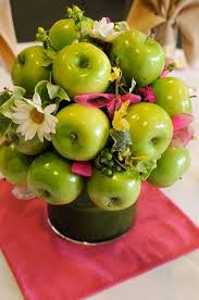 Fruit Decoration Ideas For Baby Shower 63 Ideas To Incorporate Apples Into Your Wedding Happywedd Com