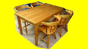 table avec 4 chaises table avec rallonge 4 chaises en pin massif agencement