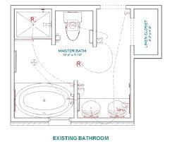 closet floor plans 8 x 10 master bathroom layout large size of bath home