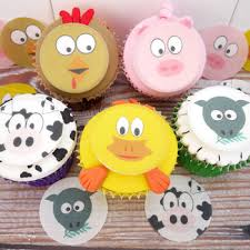 farm cake toppers farm animal cake toppers